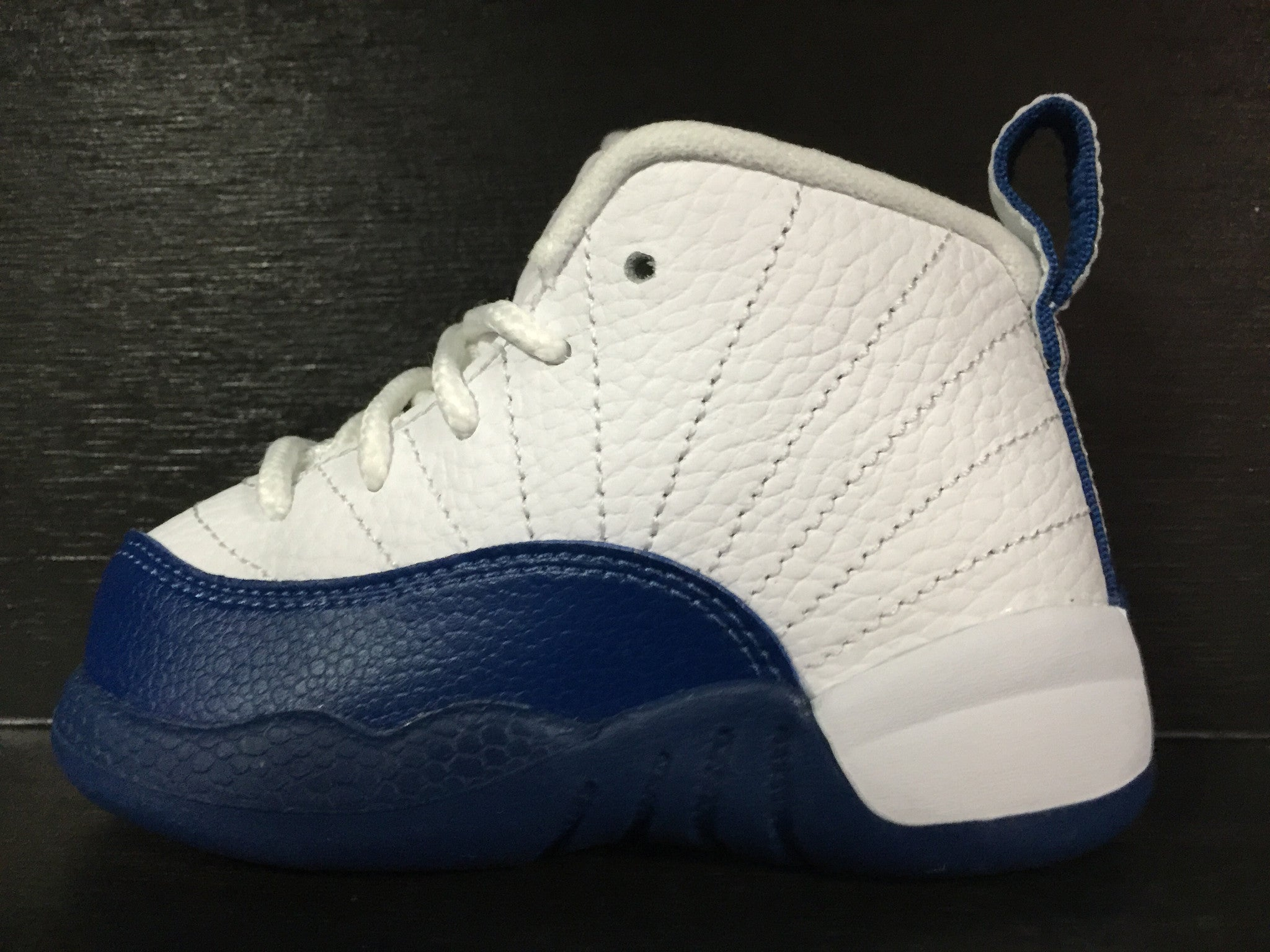 Jordan 12 Retro BT 'French Blue' Toddler