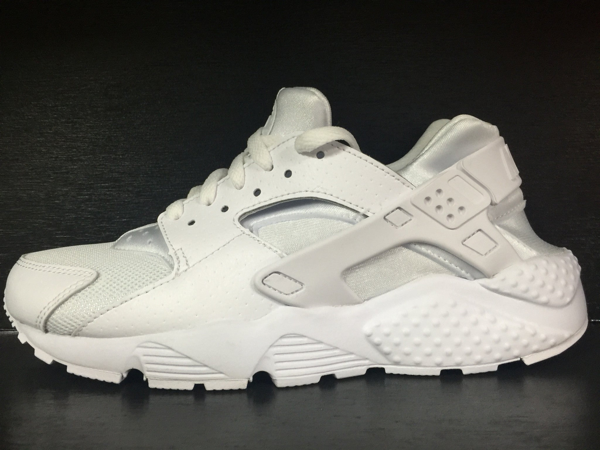 Air Huarache Run Prm Grade School 'All White'