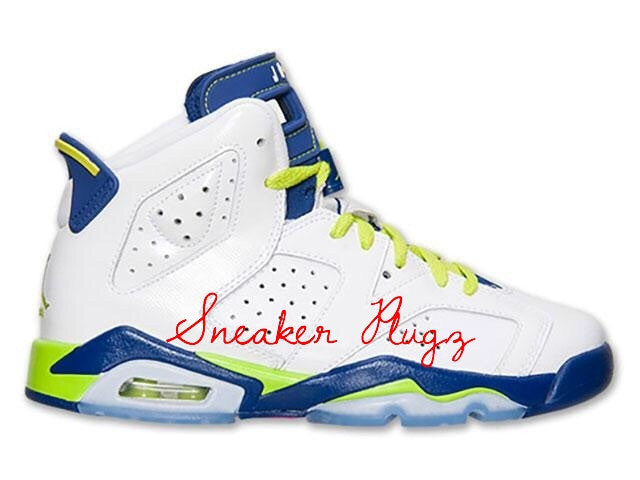 AIr Jordan 6 Retro GG 'Fierce Green'
