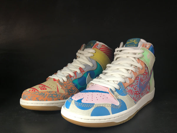 Nike SB Zoom Dunk High Prem 'Thomas Campbell' 'What The SB'