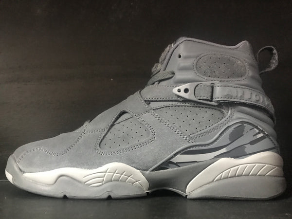 Air Jordan 8 Retro BG 'Cool Grey'