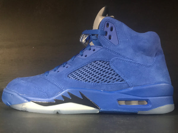 Air Jordan 5 Retro 'Blue Suede'