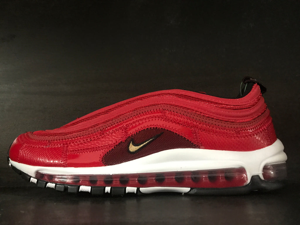 Nike Air Max 97 Cristiano Ronaldo Portugal Patchwork Red Gs