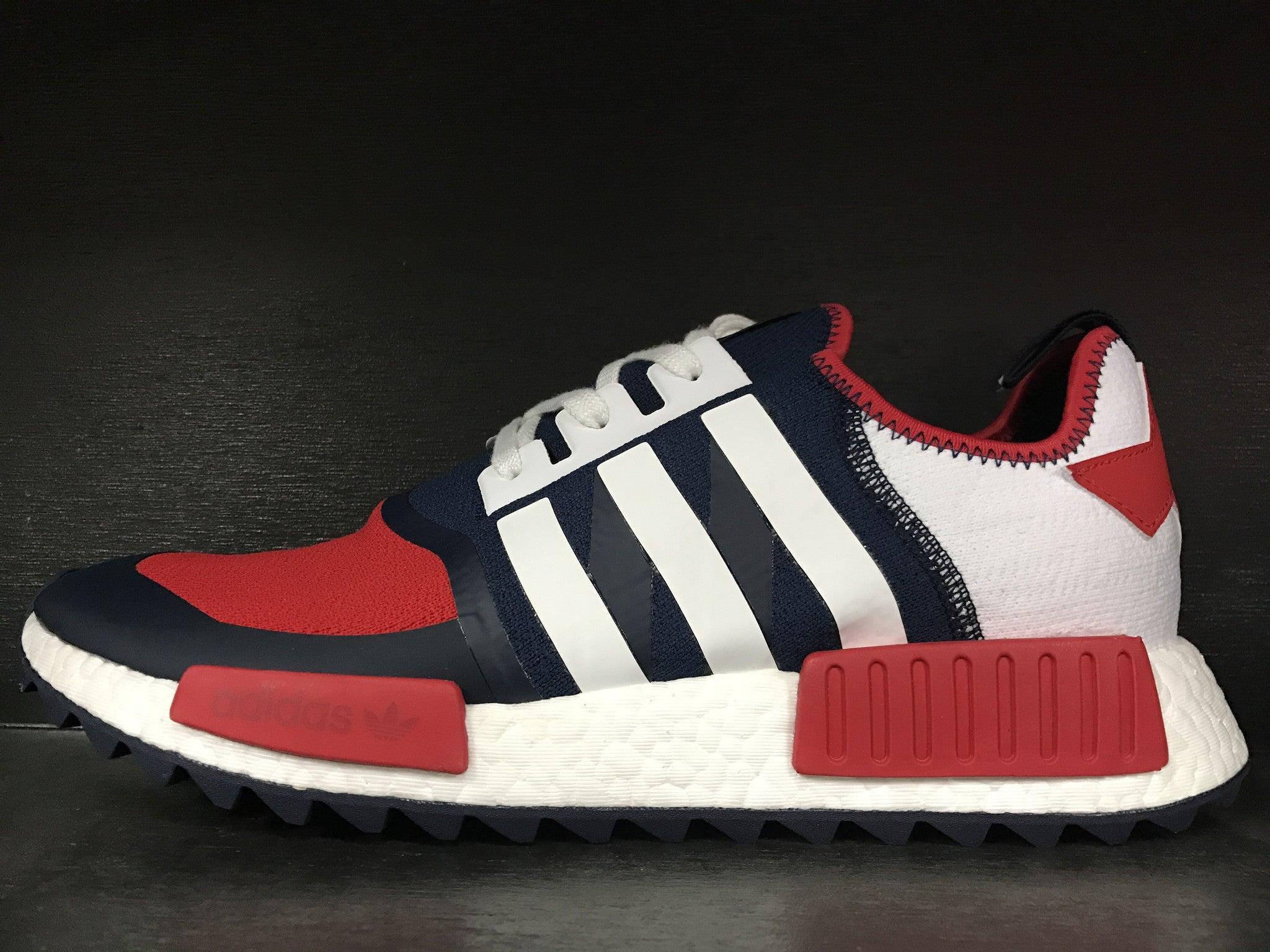 new style 4c7c3 f6483 Adidas NMD R1 Trail 'White Mountaineering Collegiate Navy ...