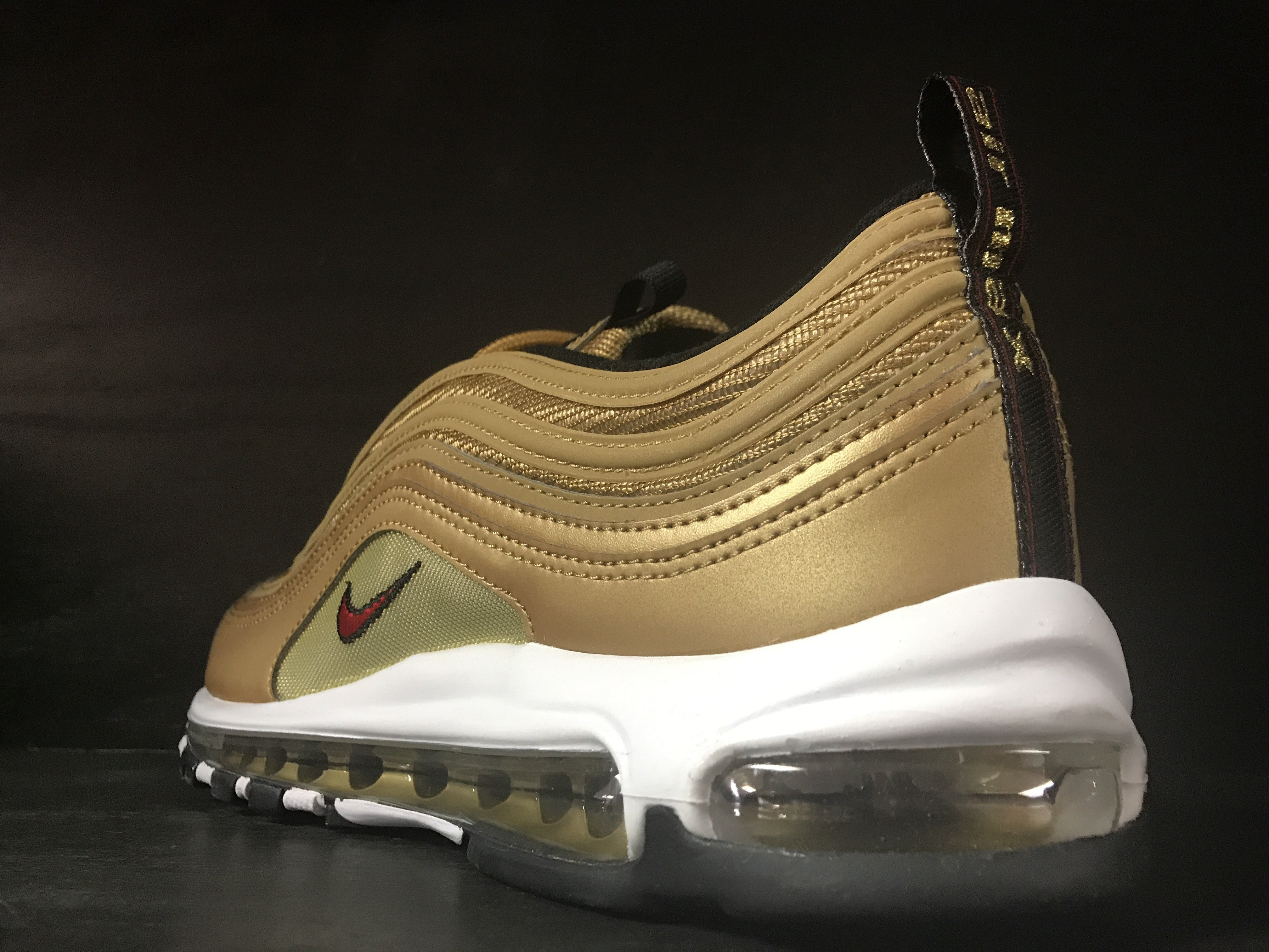 new product 950a5 d48ad Nike Air Max 97 OG QS 'Gold' – sneaker plugz