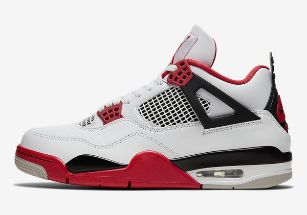 "Air Jordan 4 Retro ""Fire Red"" 2020"