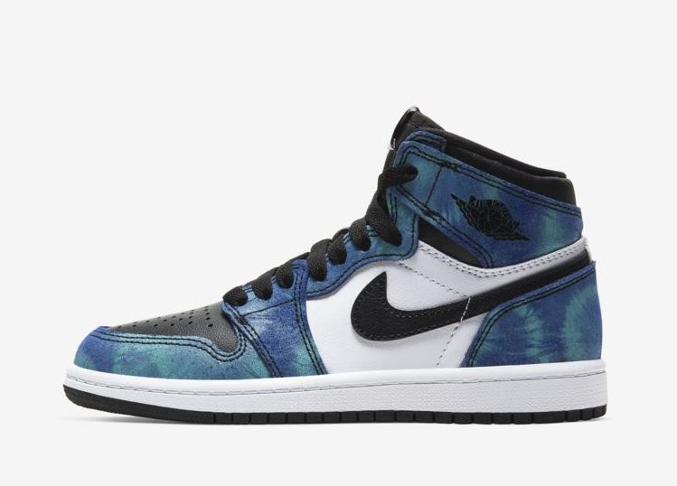 "PRESCHOOL Air Jordan 1 Retro High OG ""Tye Dye"" (PS)"
