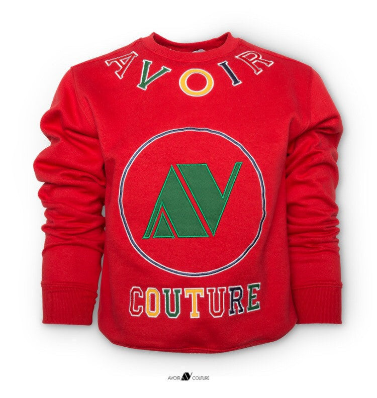 Avoir Couture Sweater (Red)