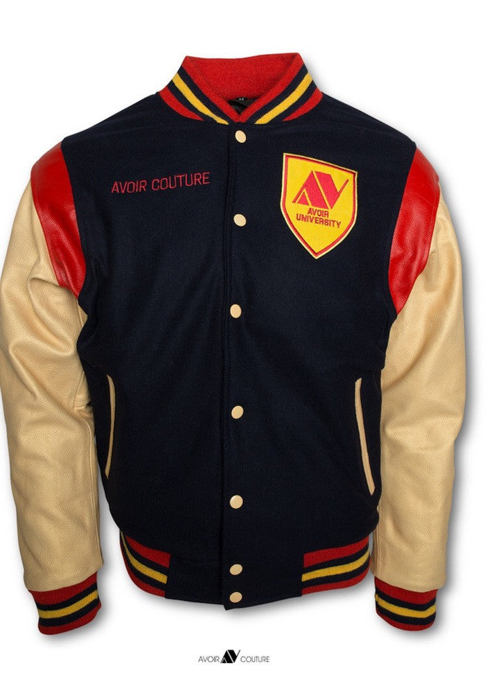Avoir University Varsity Jacket