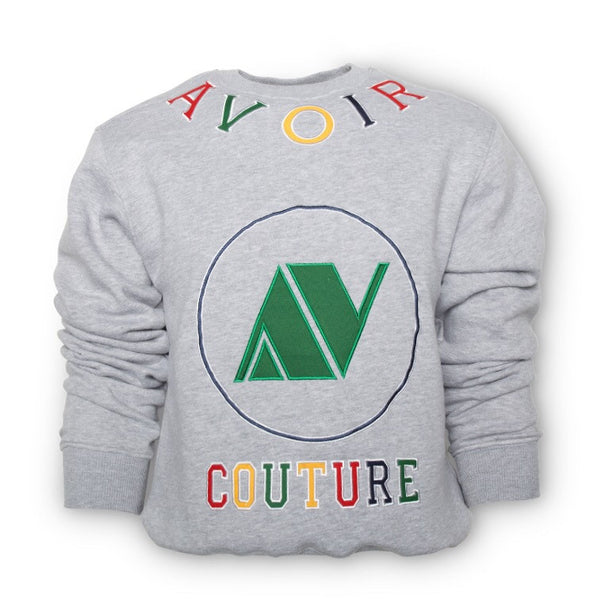 Avoir Couture Sweater (Grey)
