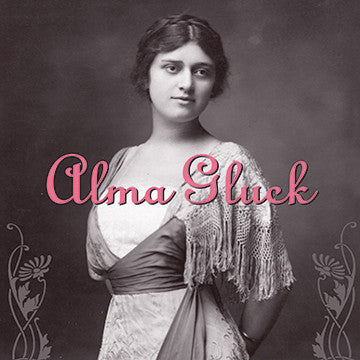 Alma Gluck CDR (NO PRINTED MATERIALS)