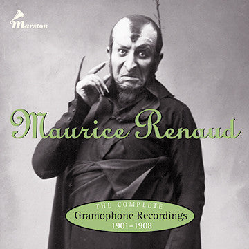 Maurice Renaud: The Complete Gramophone Recordings 1901-1908 CDR (WITH ORIGINAL BOOKLET AND TRAY CARD)