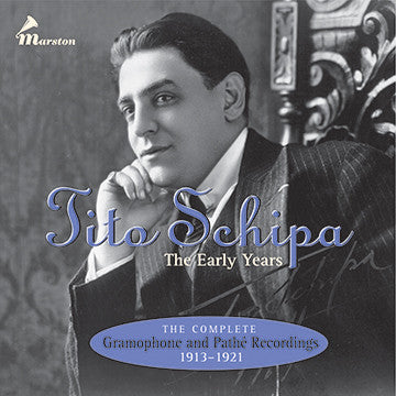 Tito Schipa: The Early Years CDR (NO PRINTED MATERIALS)