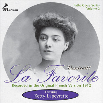 Donizetti: La Favorite CDR (NO PRINTED MATERIALS)