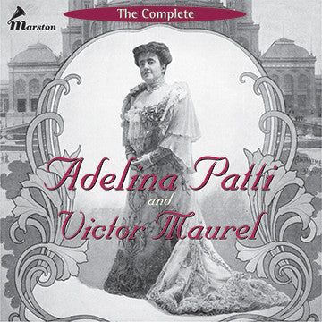The Complete Adelina Patti and Victor Maurel CDR (BOOKLET ONLY--NO TRAY CARD)
