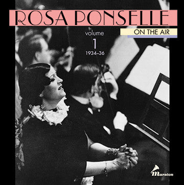 Rosa Ponselle On The Air, Vol. 1 CDR (WITH ORIGINAL BOOKLET AND TRAY CARD)