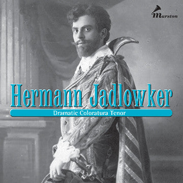 Hermann Jadlowker CDR (NO PRINTED MATERIALS)