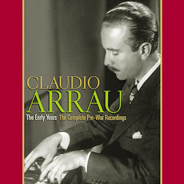 Claudio Arrau CDR (NO PRINTED MATERIALS)
