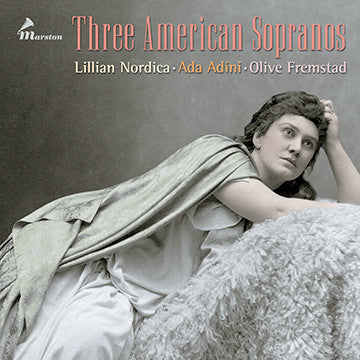 Three American Sopranos CDR (NO PRINTED MATERIALS)