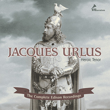 Jacques Urlus, Heroic Tenor CDR (NO PRINTED MATERIALS)