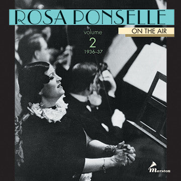 Rosa Ponselle On The Air, Vol. 2 CDR (WITH ORIGINAL BOOKLET AND TRAY CARD)