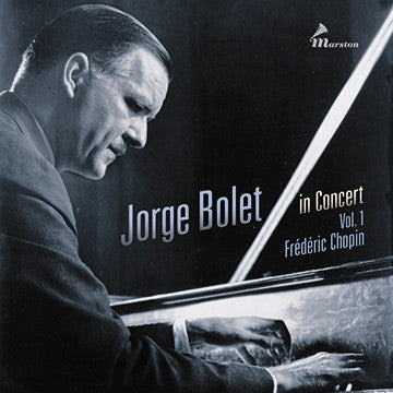 Jorge Bolet in Concert, Vol. 1 CDR (TRAY CARD ONLY--NO BOOKLET)