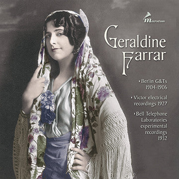 Geraldine Farrar CDR (BOOKLET ONLY--NO TRAY CARD)