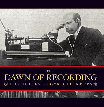 The Dawn of Recording