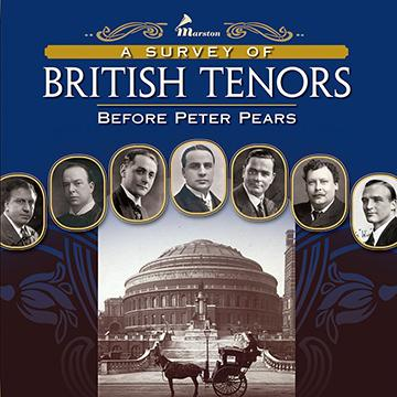 A Survey of British Tenors Before Peter Pears (WILL SHIP IN SEPTEMBER WHEN AVAILABLE)