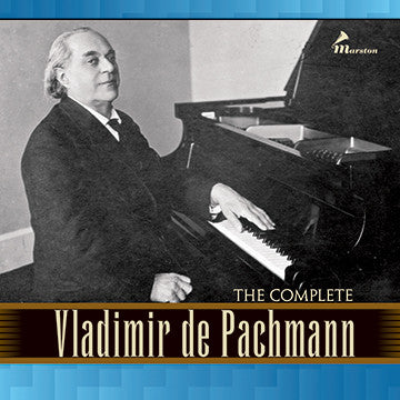 The Complete Vladimir de Pachmann CDR (NO PRINTED MATERIALS)