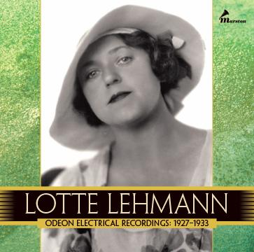 Lotte Lehmann, Vol. 2 (WILL BE MAILED WHEN AVAILABLE IN DECEMBER)