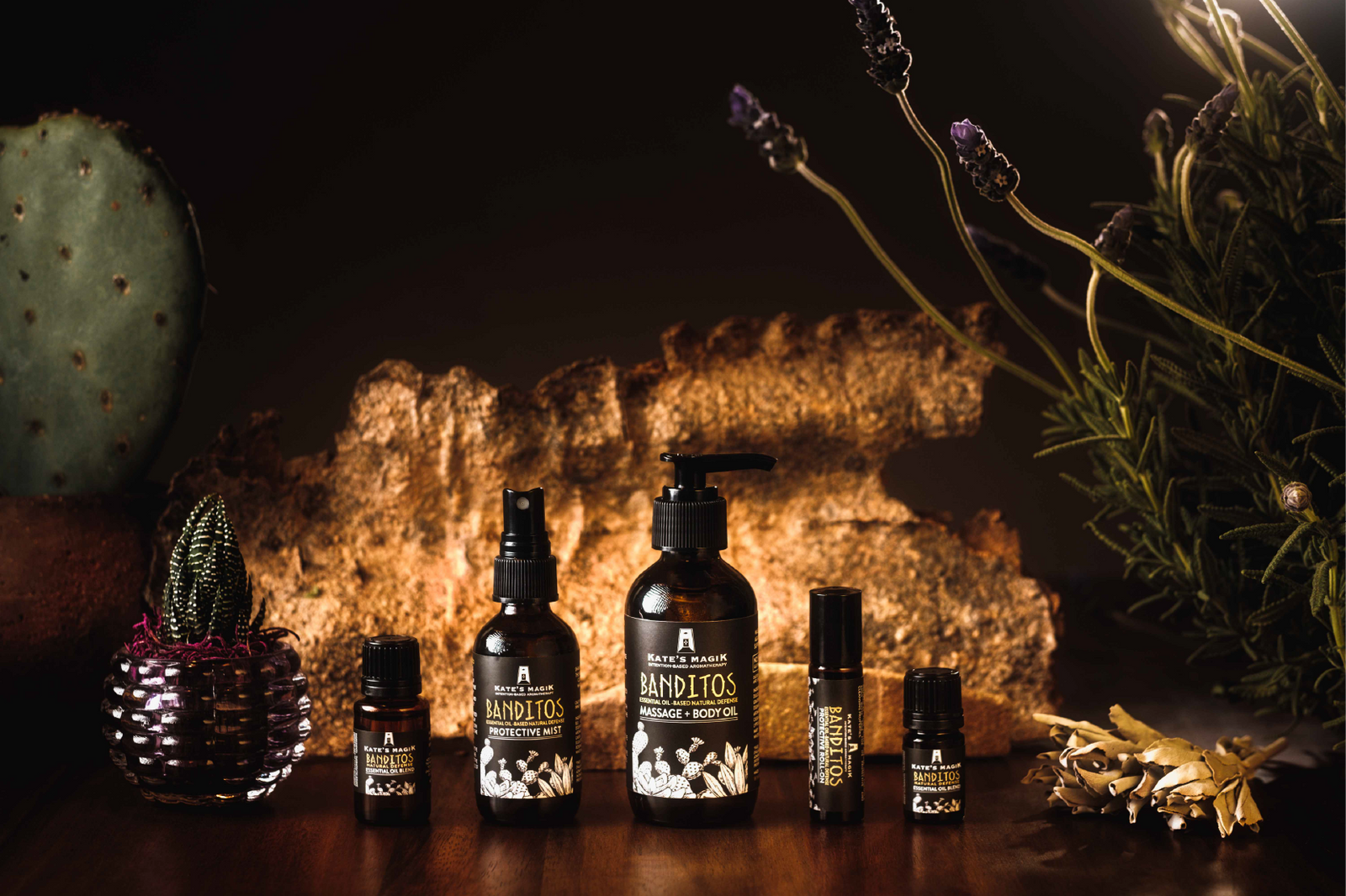 Pure Essential Oils + Intentional Aromatherapy Blends | Kate's Magik
