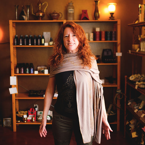 Therapeutic Perfumer Kate Becker. Founder and Creator of Kate's Magik.