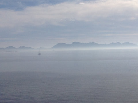 A serene view captured by Kate out onto the Sea of Cortez from San Carlos, Mexico.