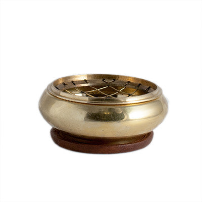 Brass Censer (Short) - Kates Magik Incense Burner,