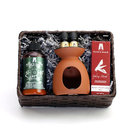 Earthly Strength Gift Basket - Kates Magik Gift Basket, - 1