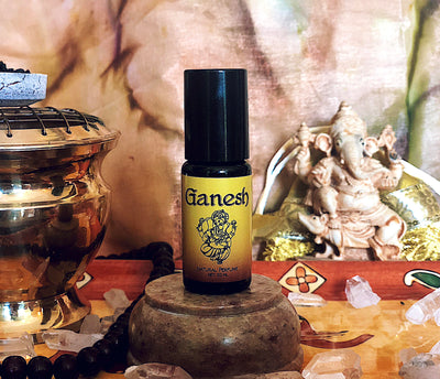 Ganesh Bastet Perfume Roll-On