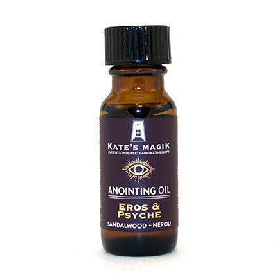 Eros & Psyche Anointing Oil - Kates Magik Aromatherapy Anointing Oils,
