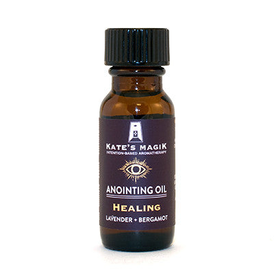 Healing Anointing Oil - Kates Magik Aromatherapy Anointing Oils,