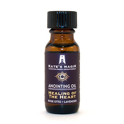 Healing of the Heart Anointing Oil - Kates Magik Aromatherapy Anointing Oils,