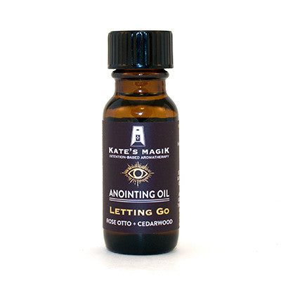 Letting Go Anointing Oil - Kates Magik Aromatherapy Anointing Oils,