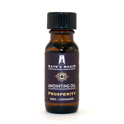 Prosperity Anointing Oil - Kates Magik Aromatherapy Anointing Oils,