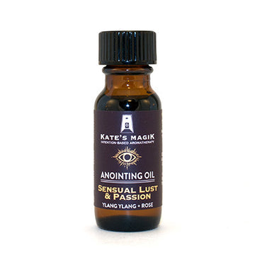 Sensual Lust & Passion Anointing Oil - Kates Magik Aromatherapy Anointing Oils,
