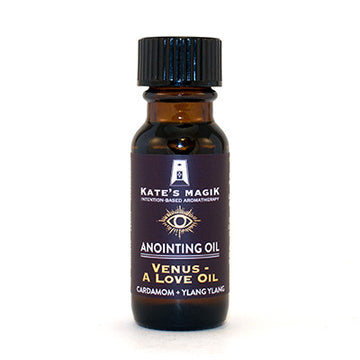 Venus - A Love Oil Anointing Oil - Kates Magik Aromatherapy Anointing Oils,