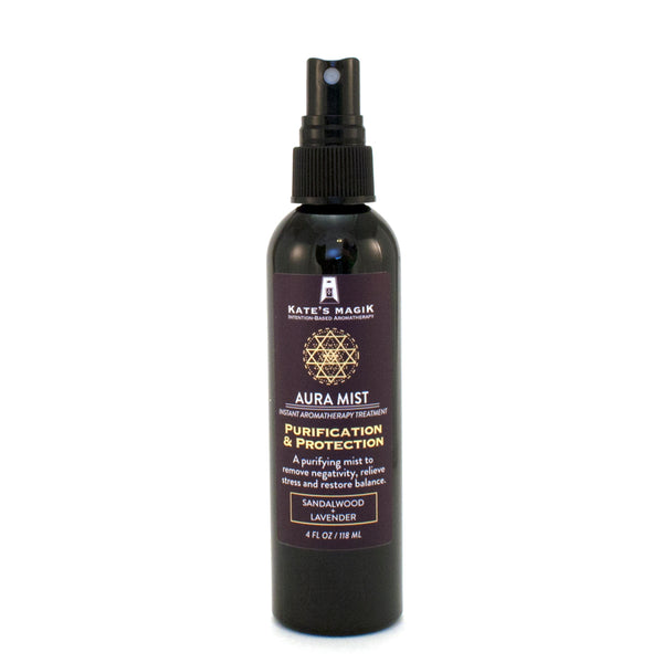 Purification & Protection Aura Mist - Kates Magik Aromatherapy Aura Mist,