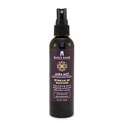 Stream of Success Aura Mist - Kates Magik Aromatherapy Aura Mist,