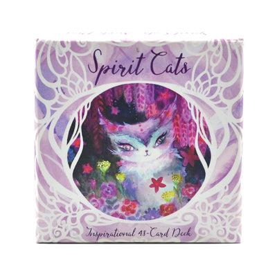 Spirit Cats Card Deck
