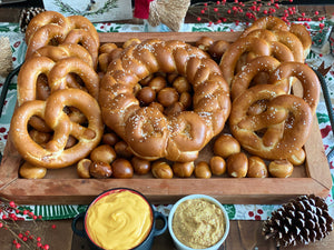 Very Merry Bavarian Soft Pretzel Holiday Gift Pack