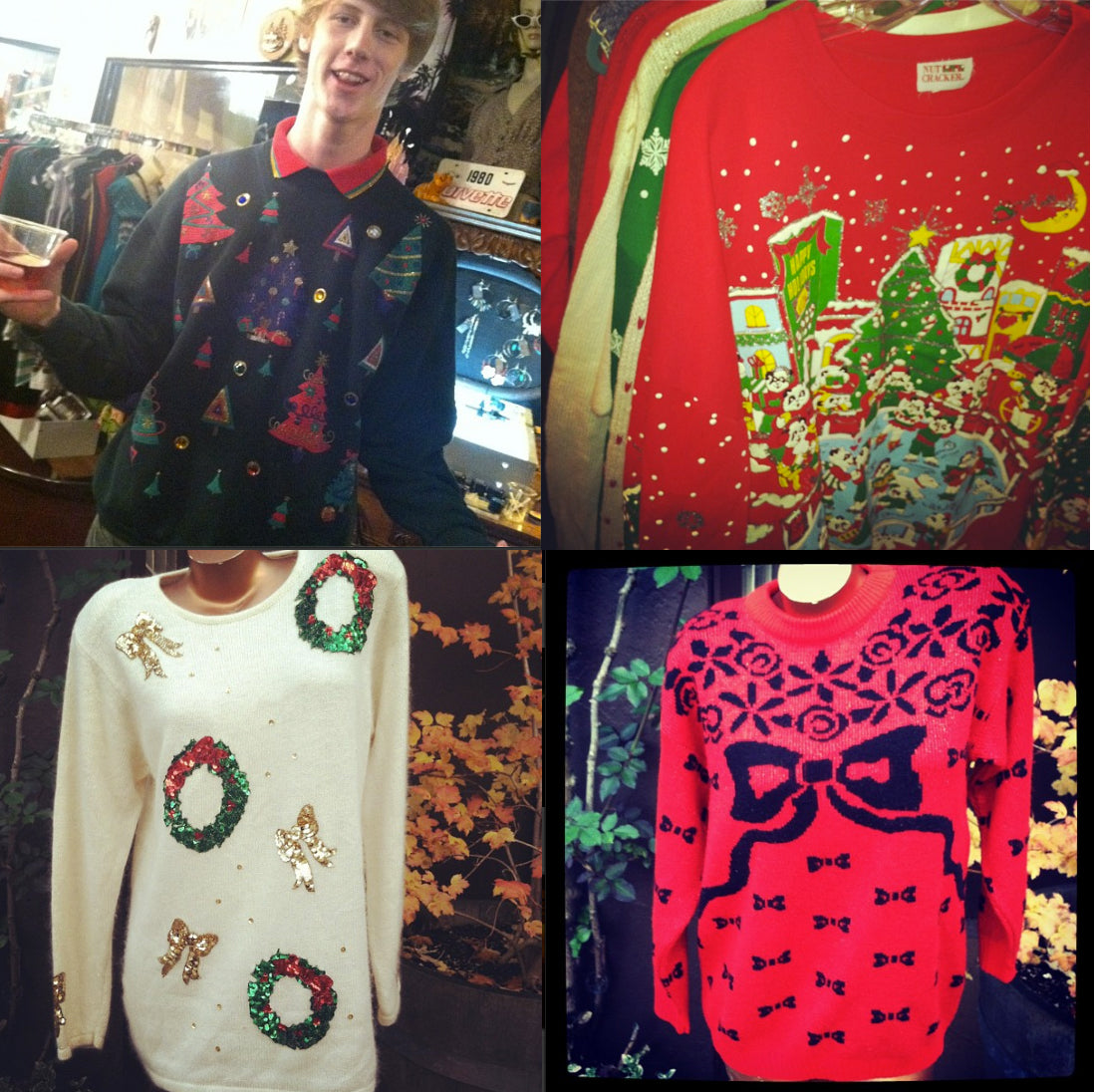 christmas ugliness in store now!