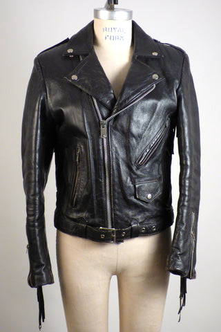 70's fringe leather jacket